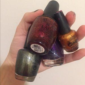 Bundle of poi nail polish